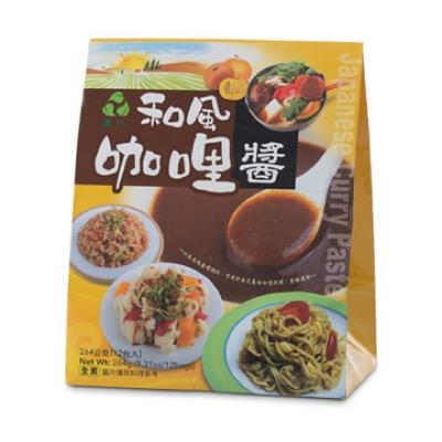 里仁 和風咖哩醬包 264公克/包