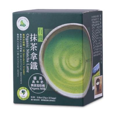 里仁 有機抹茶拿鐵 250公克/盒