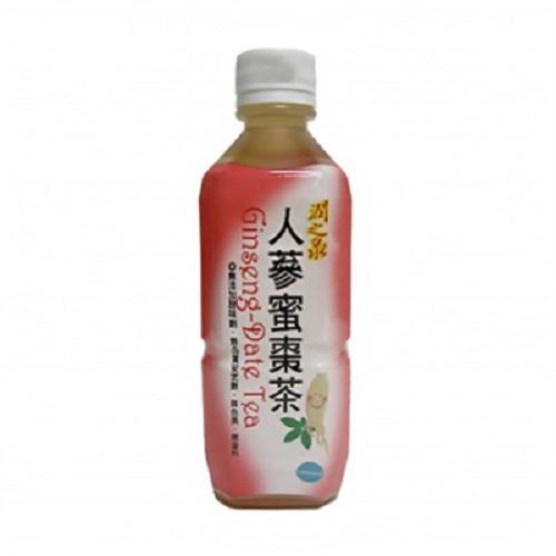 里仁 人蔘蜜棗茶 360毫升/瓶