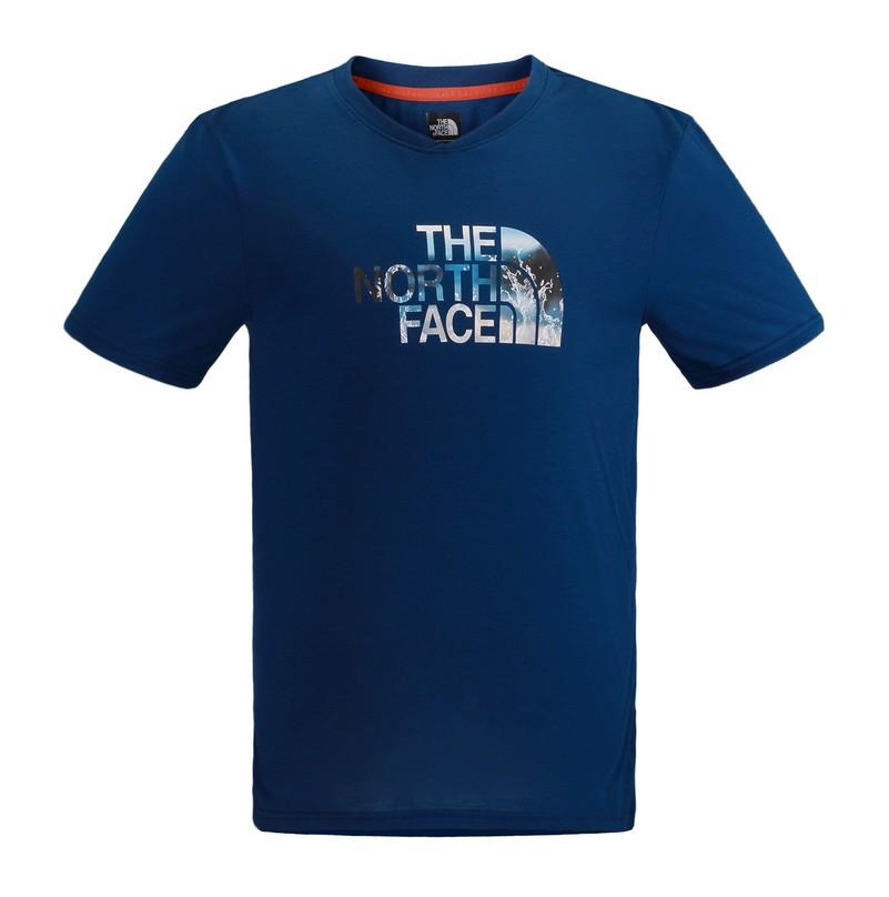 The North Face 男 SCafe 短袖T恤 里蒙藍 CZJ4