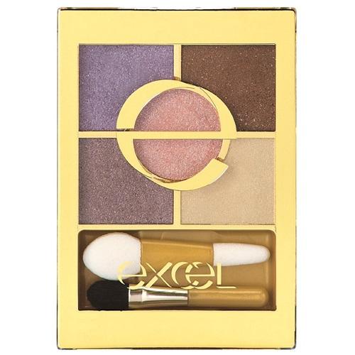 日本代購【EXCEL】5色眼影盤 紫羅蘭 FS03