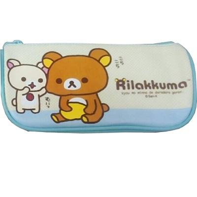 【拉拉熊】Rilakkuma/藍色/船型筆袋