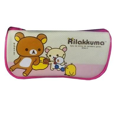 【拉拉熊】Rilakkuma/粉色/船型筆袋