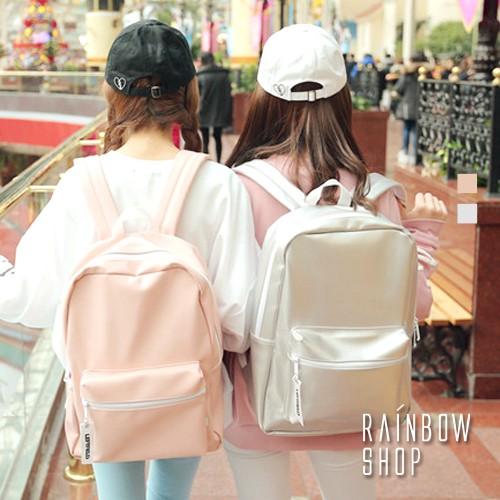 後背包~ 亮眼皮革後背包~FF~Rainbow Shop~A12121008~