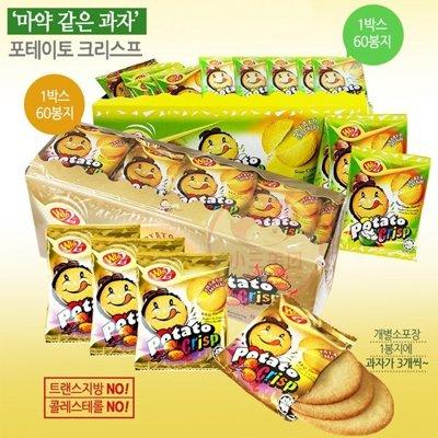 Win2^~香烤洋芋脆薯餅60包入^(盒裝^) BBQ烤肉味 洋蔥酸奶油味~D101173