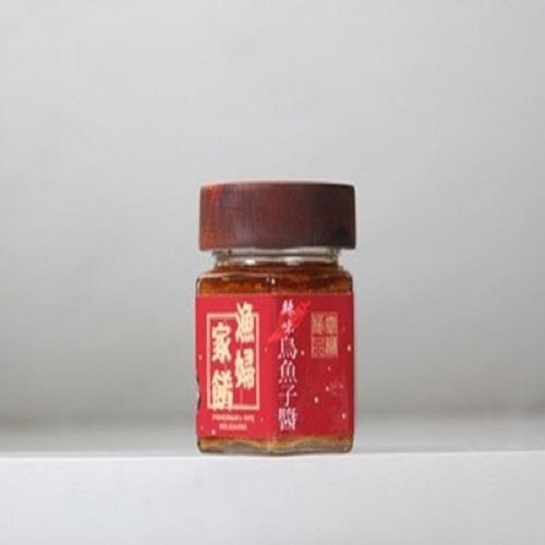 【梓官區漁會】辣味烏魚子醬(110g/罐)