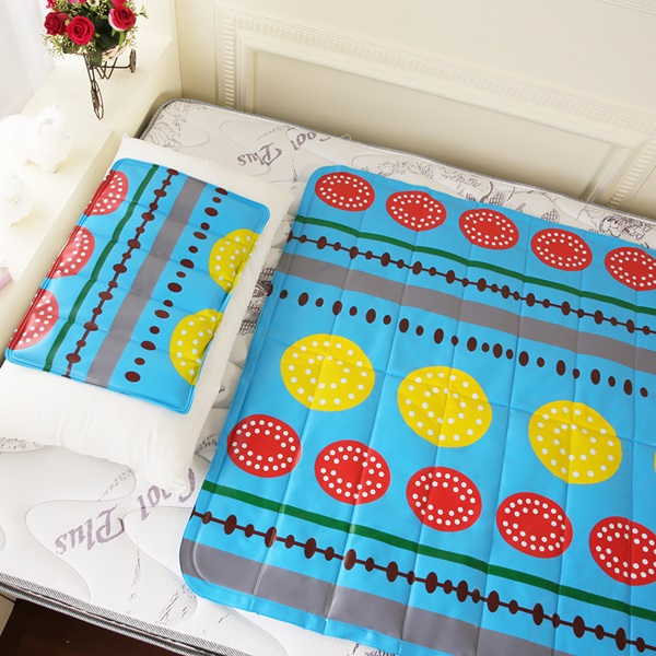 雙重強效防蚊激涼冷凝床墊~1入~四色