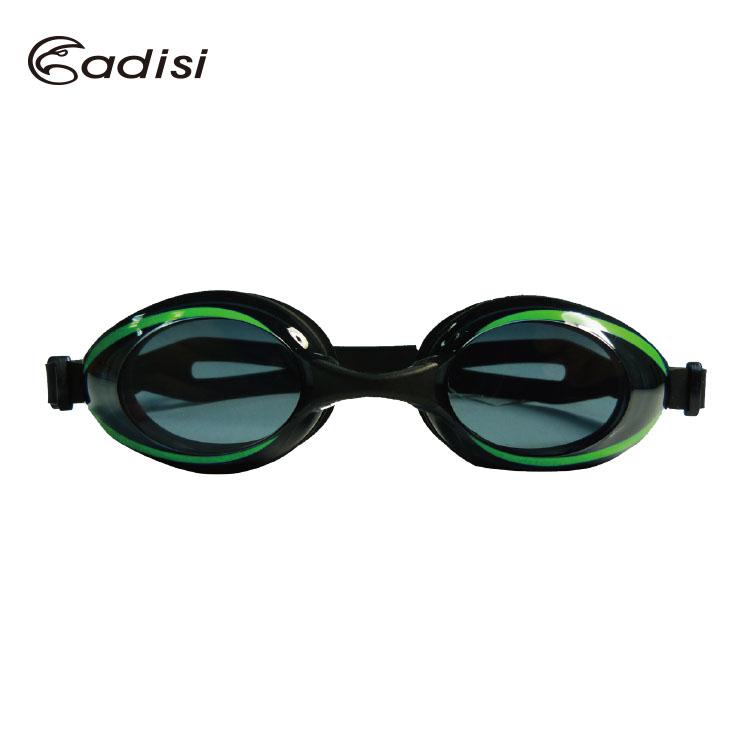 ADISI 舒適平光 泳鏡 AS16052  城市綠洲 ^(有色鏡片.可拆式.防霧.抗紫外