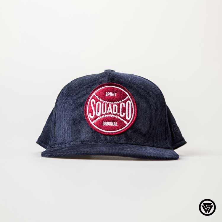 SQUAD 2016 S S Baseball Patch Flocking CAP棒球貼