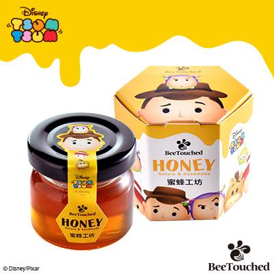 【蜜蜂工坊】迪士尼tsum tsum系列手作蜂蜜(胡迪款)