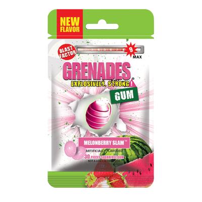 手榴彈口香糖-蜜瓜莓果