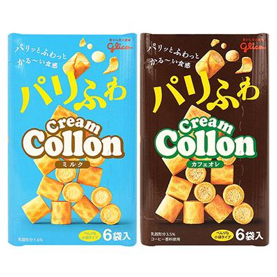 Glico 江崎 固力果^(格力高^) 捲心餅 81g 香醇牛奶 咖啡歐蕾  零食 餅乾~