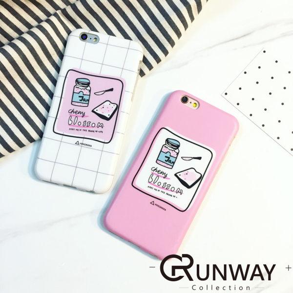 韓國可愛果醬土司 插畫風 手機殼 蘋果 iPhone6 Plus 6s 磨砂硅膠 防摔軟殼
