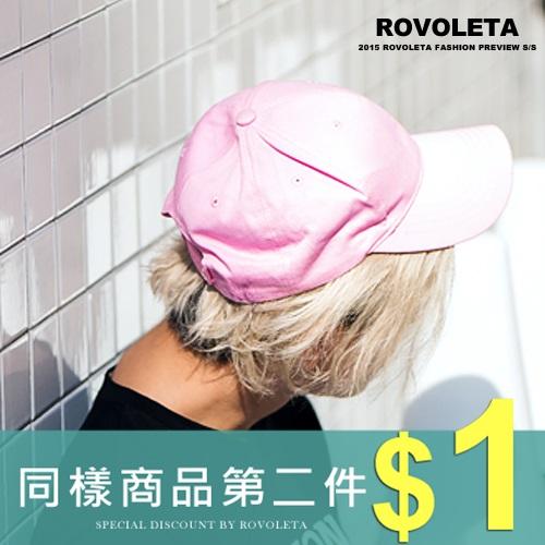 ROVOLETA. 複古棒球帽.老帽.BY~05