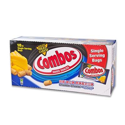 【美式賣場】Combos 起司捲心餅 48.2公克*18包