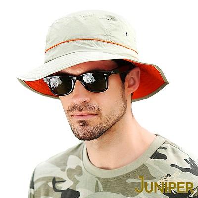 抗UV防潑水遮陽漁夫帽L