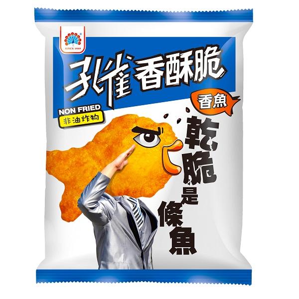 【孔雀】香酥脆香魚(52g-12包入/箱)