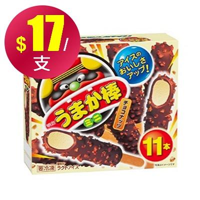 【冷凍店取】【明治】美味加棒(11入)*4盒