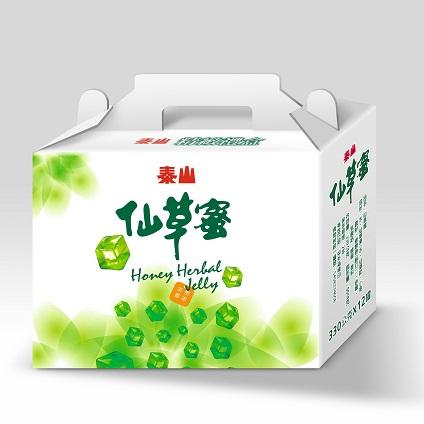 【泰山】仙草蜜禮盒(330gX12入)