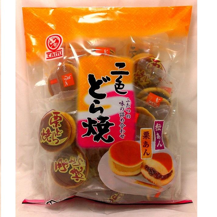 天惠二色銅鑼燒 (紅豆粒/栗子2種口味)