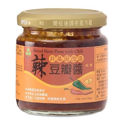 【里仁】辣豆瓣醬 165公克/瓶
