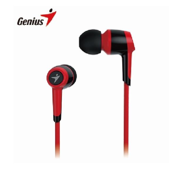 【Genius】耳道式有線耳機麥克風