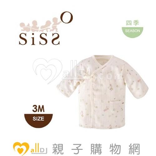 ~MallDJ親子 網~SISSO有機棉 送你一朵小花紗布衣~3M~ ^#PBA38080