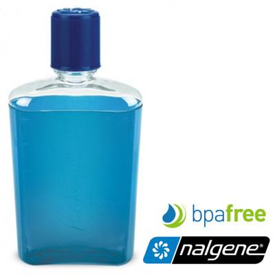 Nalgene ^ 美國^  FLASK 攜帶型酒壼~藍色~/隨身酒壼/2181~0007