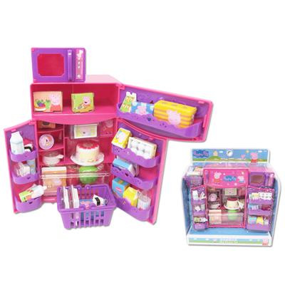 【Peppa Pig】佩佩豬冰箱玩具組