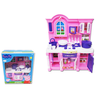 【Peppa Pig】佩佩豬廚房玩具套裝組