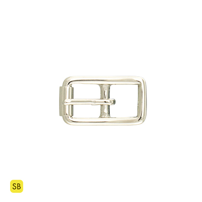 ^~頤坊皮藝^~12mm鎳色純銅帶扣1509~12