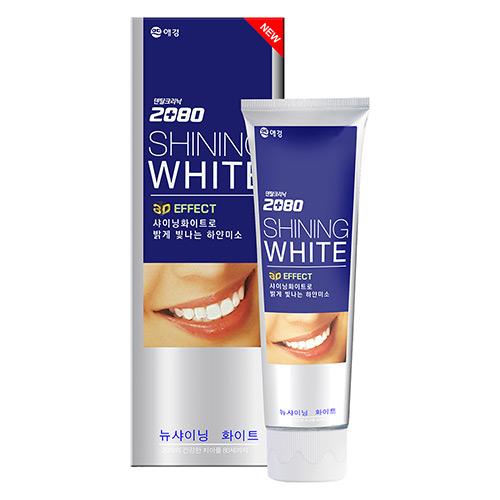 【韓國2080】三重美白修護牙膏100g