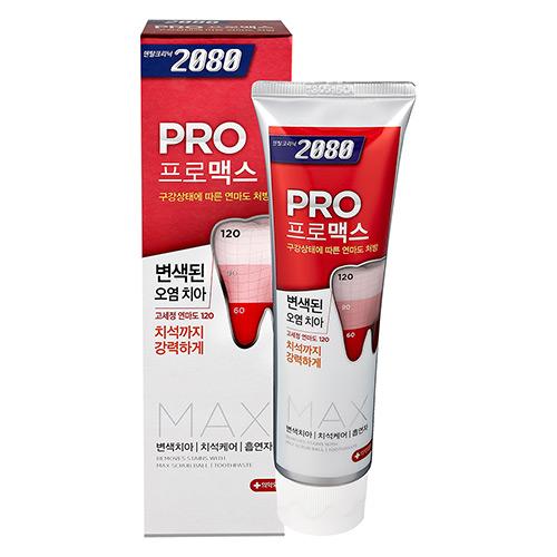 【韓國2080】專業亮白牙膏-除垢脫漬125g