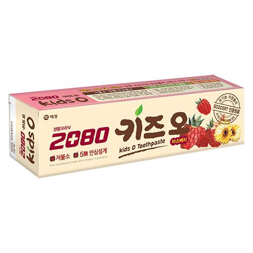 【韓國2080】有機莓果兒童牙膏100g
