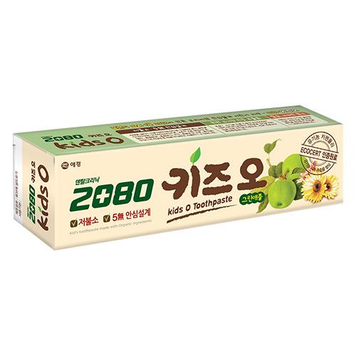【韓國2080】有機蘋果兒童牙膏100g