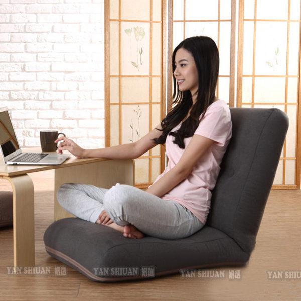 ~妍選~  日式高背加厚護脊美臀和室椅 五段調節
