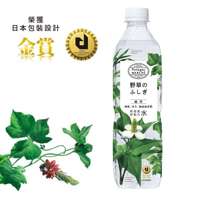 【菠啾花園】菠啾野草水鹼性580ml-24入/箱