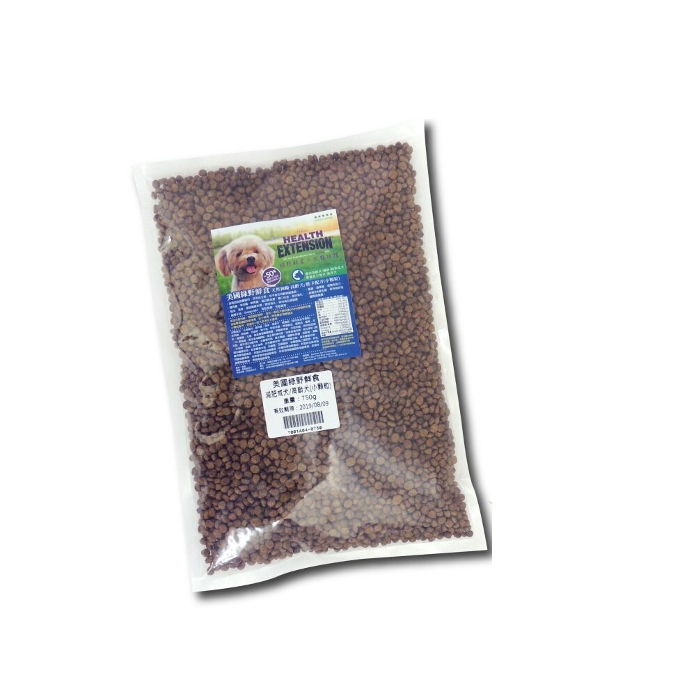 ~新鮮試吃~綠野鮮食 減肥成犬 高齡犬^(小顆粒^)~分裝包750g ~160元 可超取^