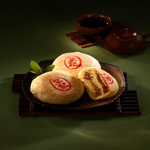 【犁記】招牌綠豆椪(豆沙魯肉)(100g*6入/盒)
