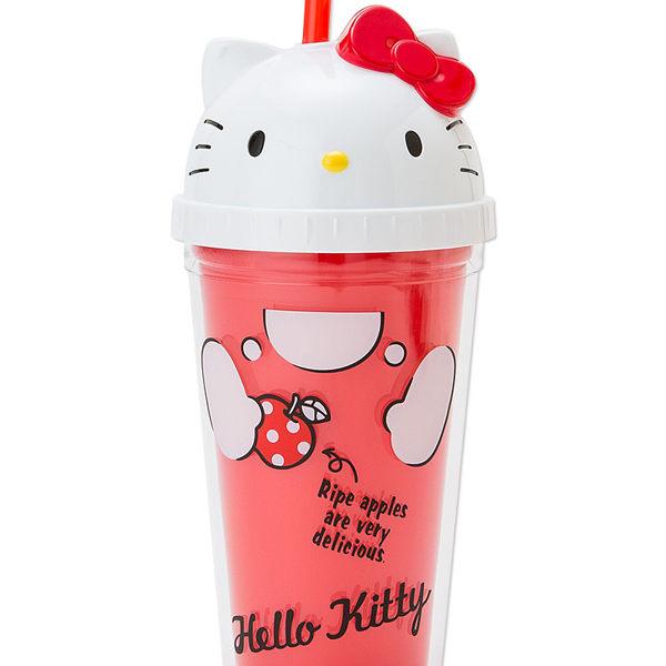 三麗鷗 吸管水壺 吸管水杯 Kitty 凱蒂貓 300ml