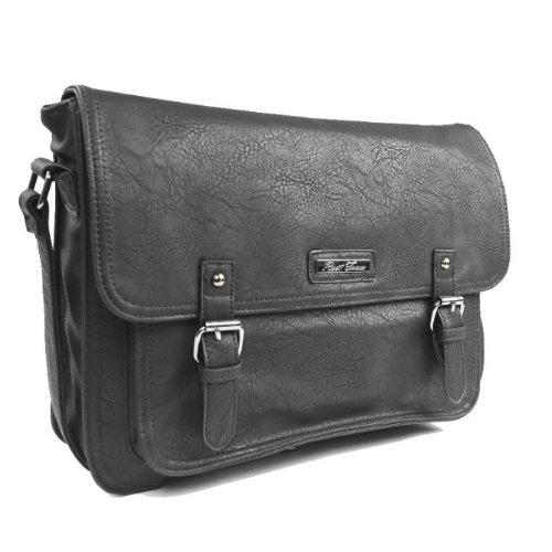 ~KS6007~雙扣袋 大容量 皮革 韓國 後背包 手提包