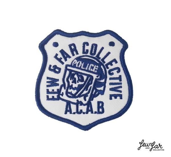 Few  Far A.C.A.B. Patch 橄欖球警徽元素貼布^(6.6 x 6.9C