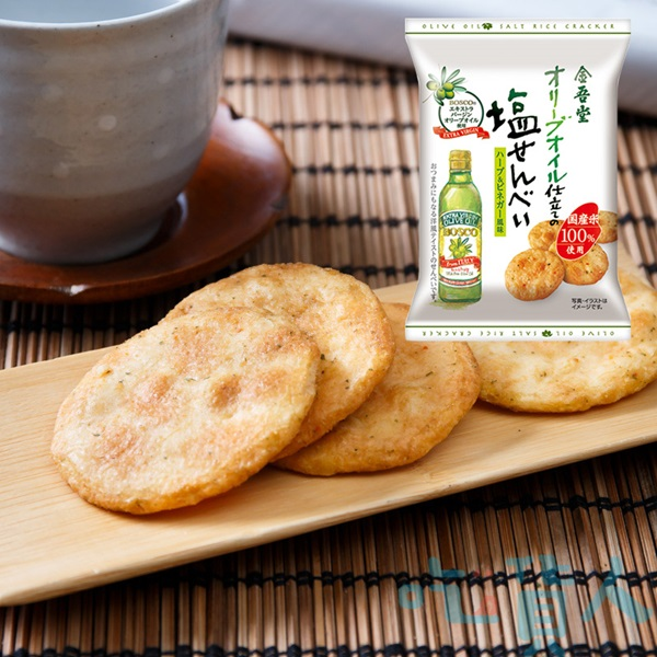 【吃貨人】金吾堂香蒜醋味鹽仙貝15枚