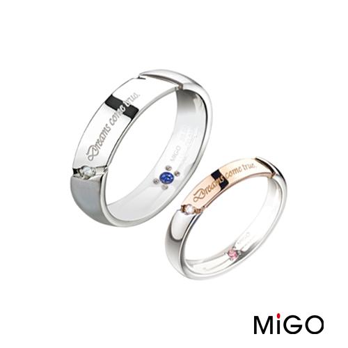 AnnShop~MiGO‧築夢白鋼戒指~~單個~鋼飾飾品 情人  SRD711~SRD71