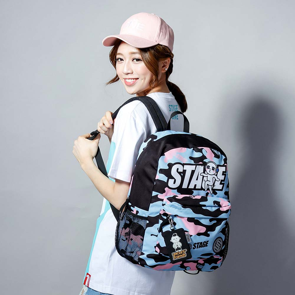 STAGE BAG × UNCLES FRIENDS AQUARIUS BACKPACK