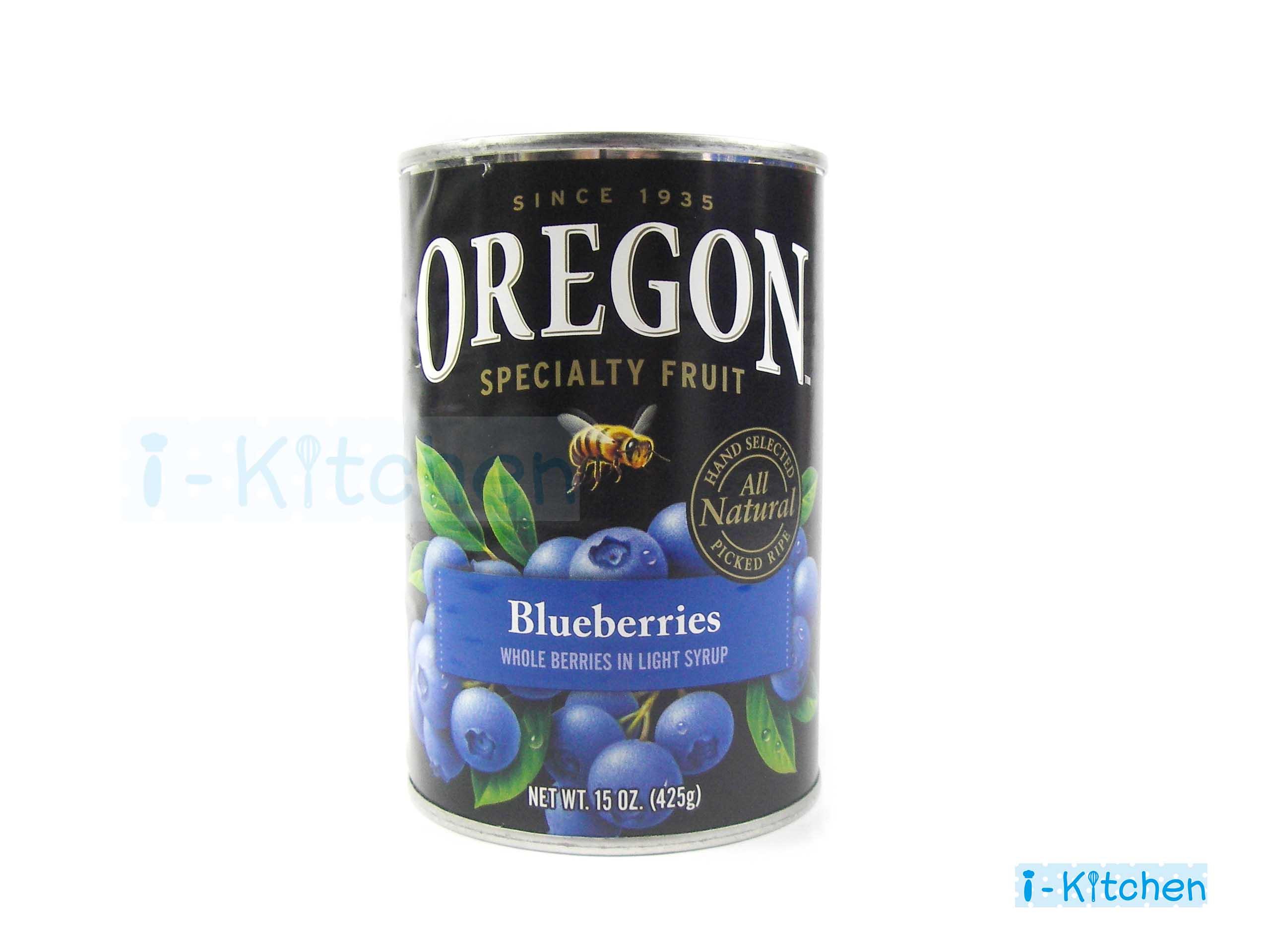 I~Kitchen 愛廚房^~OREGON小藍莓 易開罐頭 美國 西點蛋糕裝飾 甜點派餡