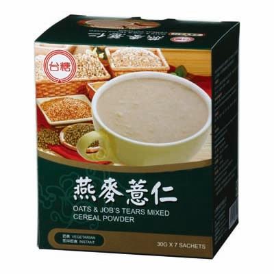 【台糖】燕麥薏仁 (30g*7包/盒)