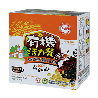【台糖】有機黑寶穀粉 (30g*10包/盒 )