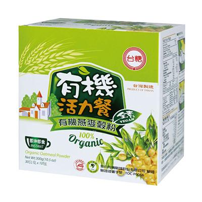 【台糖】有機燕麥榖粉 (30g*10包/盒 )