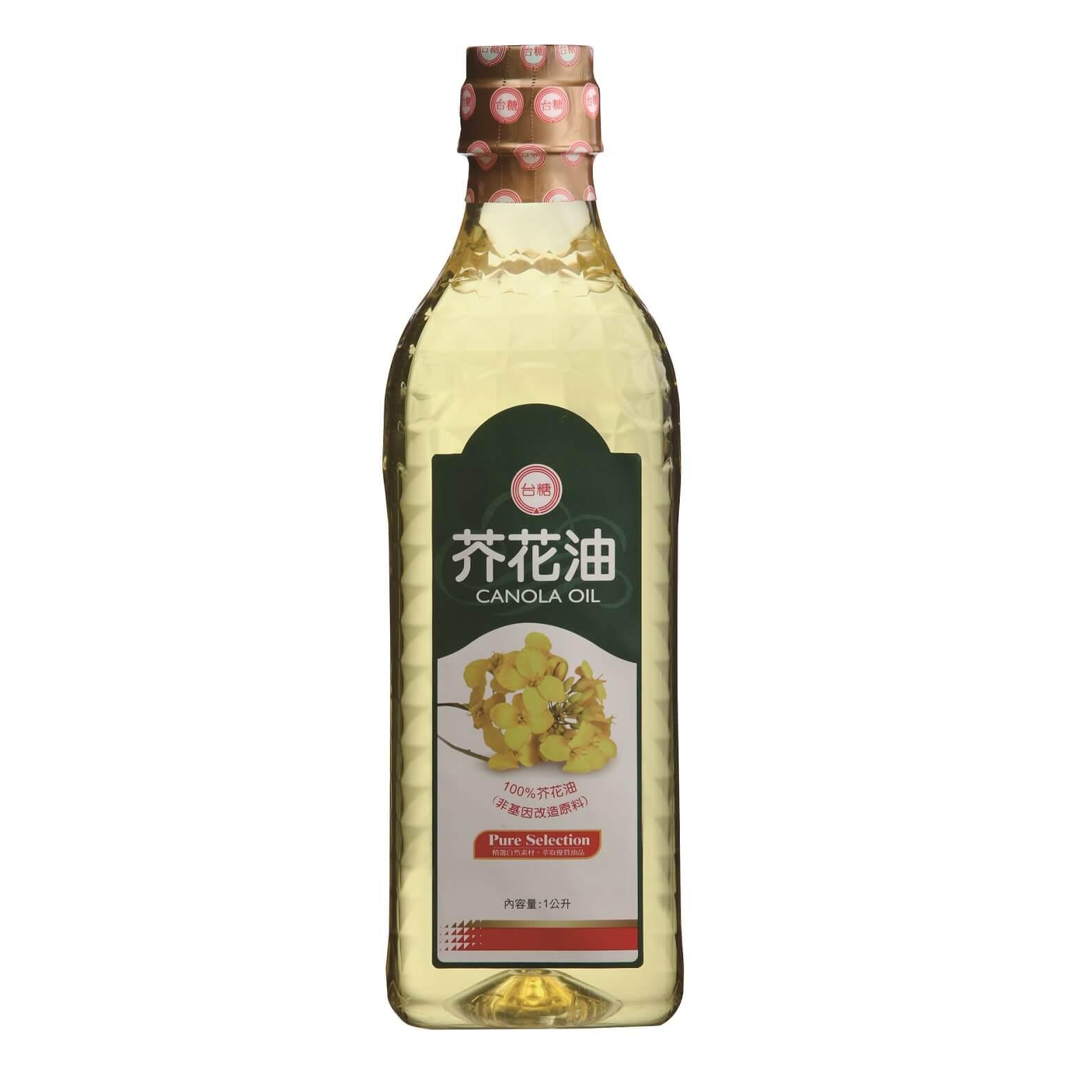 【台糖】芥花油 (1公升裝)